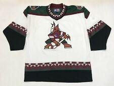 Vintage Starter Phoenix Coyotes Kachina 90s NHL Hockey Jersey L White Sewn