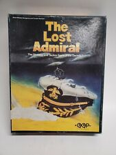 The Lost Admiral - 5 1/4-inch Floppy Disk PC game Complete Big Box FREE SHIPPING