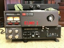 Elmo GS-1200 Super 8mm Stereo Sound Movie Projector