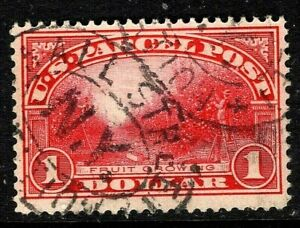 [DZ]   US #Q12  Used   1913...$1.00 PARCEL POST...Free Shipping!