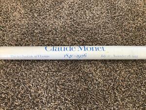 CLAUDE MONET - RARE - ART INSTITUTE OF CHICAGO EXHIBITION POSTER 1995