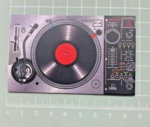 DJ Groove,  [ Credit Card Size: 5.4 cm W x 8.5cm H ] Grinder Card Metal Tool