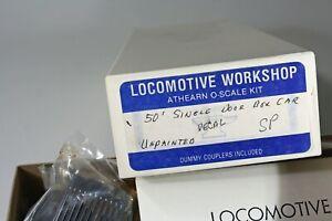 O Scale l comotive  Workshop  Kit 50' SP  Boxcar - brass sifes, i 2 or 3 Rail