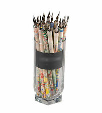 1x Plumilla Madera Arcoiris Plumin Acero Caligrafia Dibujo con Tinta China 7121