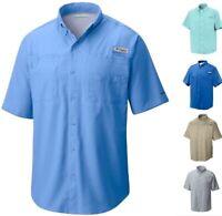 Columbia Men's PFG Tamiami II Short Sleeve Fishing Shirt Ripstop UPF 40 Big Tall