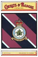 Postcard RAF Royal Air Force No.5 Squadron Crest Badge No.21 NEW