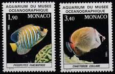 Monaco postfris 1986 MNH 1766-1767 - Vissen / Fish