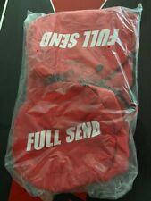 Full Send Duffle Bag Red