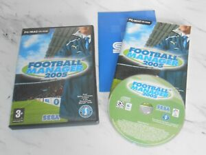 FOOTBALL MANAGER 2005 Pc Cd Rom FM FM2005 - FAST POST