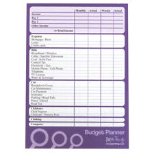 More details for a5 budget / finance / money planner - 50 sheets per pad - plan weekly or monthly