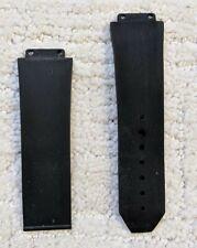 Hublot Classic Fusion Rubber Strap Band AUTHENTIC GENUINE black bracelet