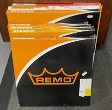 More details for job lot of remo/evans drum heads (opened/unused)