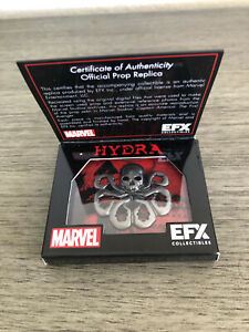 EFX Collectibles Captain America Hydra Pin Official Prop Replica NEW