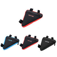 Cycling Bicycle Front Tube Bike Triangular Frame Tool Bag Triangle Storage Pouch