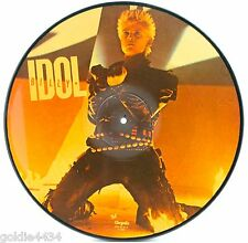 1984 BILLY IDOL - Eyes Without A Face - Collector's Picture Disc VINYL Record