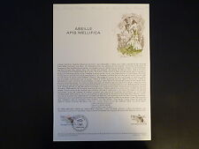 FRANCE MUSEE POSTAL FDC 09-79   ABEILLE APIS MELLIFICA  1F   PARIS ET EVIAN 1979