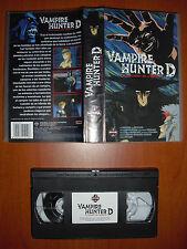 Vampire Hunter D - El cazador de vampiros [Anime VHS] Manga Video Ver. Española