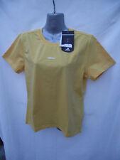BNWT Womens Sz UK 16 Pretty Mango Adidas Brand Short Sleeve T Shirt RRP $60