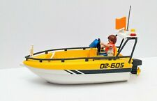 Playmobil Speed Boat with Figure Summer Fun Patrol Boat