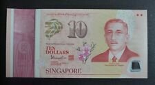 SINGAPORE 2015 POLYMER SG50 Commemorative Banknote $10 Strong Families 786 INDIA