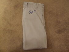 Zach McAllister Signed Autographed GAME WORN Pants - w/COA Trenton Thunder