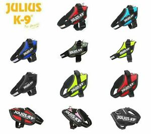 JULIUS¹ K9 Powerharness IDC dog harness various sizes colour free shipping