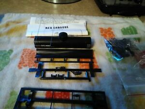 Ho Scale Red Caboose 10,000 Gallon Oil Thank Car. New Old Stock
