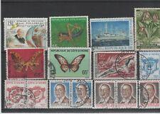 COTE D'IVOIRE - lot de timbres oblitérés (1)