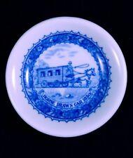 SHENANGO CHINA USA Baltimore & Ohio B&O Railroad 1827-1927 Butter Pat Mfg Flaw