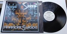 Siren-Financial suicide (aaarrg 19) German LP + ois, aaarrg records 1989