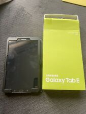 Samsung Galaxy Tab E SM-T560 16GB, Wi-Fi, 9.6in - Black w/ Box