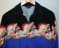 Roper Women's Western Rodeo Cowgirl Shirt Blouse Retro Vintage Small