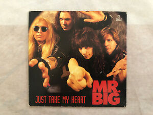 MR. BIG: JUST TAKE MY HEART - TO BE WITH YOU (LIVE) 2 TRACK CD SINGLE! EX