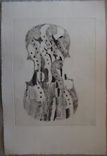 Fernandez ARMAN : Accumulation de crosses - GRAVURE sur ARCHES # 1979 # Moreau