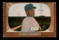 1955 Bowman Set Break # 242 Ernie Banks VG *OBGcards*