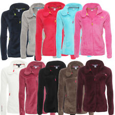 Geographical Norway Uniflore Damen Fleece Jacke Übergangs Sweatjacke Fleecejacke
