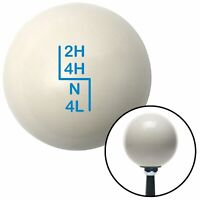 Red 70 Year Retro Series American Shifter 142634 Ivory Shift Knob with M16 x 1.5 Insert