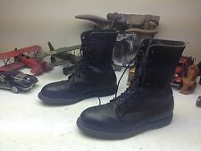 GICB STEEL TOE MILITARY USA BLACK LEATHER LACE UP ENGINEER BOSS ARMY BOOTS 11W