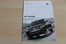 97899) VW Touareg - Preise & Extras - Prospekt 12/2003