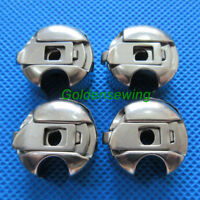 4 PCS Bobbin cases for JUKI DDL-555 5550 8500 8700 8300 9000 sewing machines