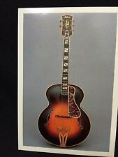 1935 Gibson Super 400 Orchestra Guitar Post Card FS