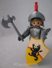 Playmobil Castle extra figure: Black Lion Knight with axe NEW