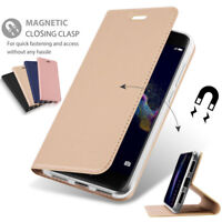 Magnetic Leather Flip Card Wallet Stand Cover Case For Huawei P10 /Honor 9/ Nova
