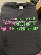 Nine Inch Nails Perfect Drug shirt Large reprint comfort colors