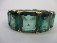 Lee by Lee Angel By The Sea Cube Stretch Link Bracelet NWT $48 Brilliant GREEN