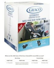 Graco Extend2Fit Convertible Car Seat | Gotham