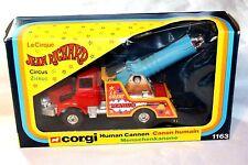 Corgi #1163 humano Canon, Jean Richard Circo, VNM en buenas Caja Original