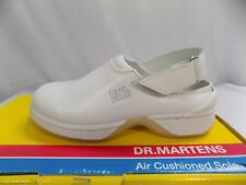 New Vtg Dr Doc Martens Kids Sandal 6860 White Hook Loop UK Child 10 US Youth 11