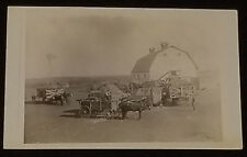 1905/15's - SASKATCHEWAN, CANADA - FARMER / MACHINERY - REAL PHOTO - POSTCARD