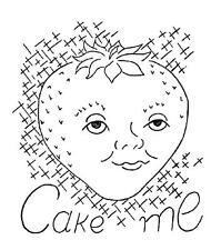Animated Fruit Cake Me Freeze Me Slice Me Pie 3580 repo Iron on Transfer
